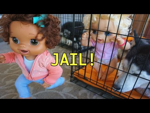 BABY ALIVE Emily Goes To JAIL!!