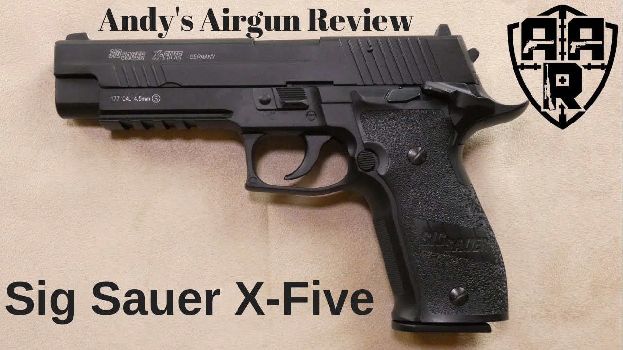 Sig Sauer x-five Full Review