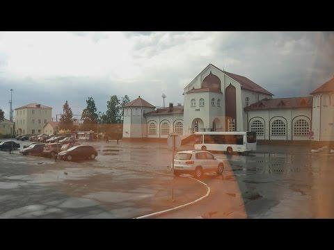 . Муром. Поездка по городу на автобусе (Владимирская область)