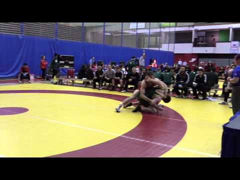 2015 Canada West Championships: 90 kg Finn Higgins vs. Sean Belisle