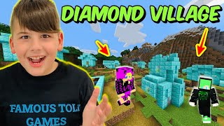 ΑΠΙΣΤΕΥΤΟ ΒΡΗΚΑΜΕ ΜΕ ΤΟ NOOBAKI DIAMOND VILLAGE MINECRAFT FAMOUS GAMES @Let's Play Kristina