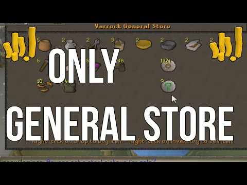 General Store Only Episode 1 - First Flips | Oldschool Runescape