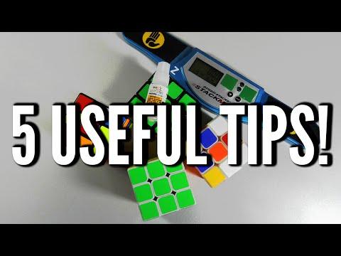 Tips For Beginner Cubers!
