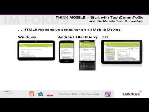 Mobile TechComm ToGo with mobile TechCommApp (EN)