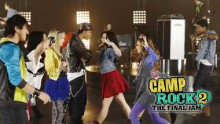 Camp Rock 2 The Final Jam - Fire - Full Song With Lyrics HQ
