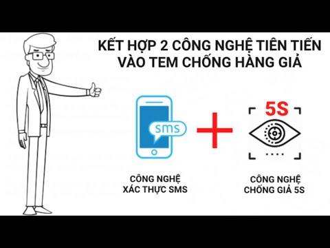 Tem chống giả SMS kết hợp công nghệ chống giả 5S