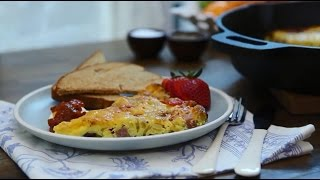 Brunch Recipes - How to Make a Baked Denver Omelet