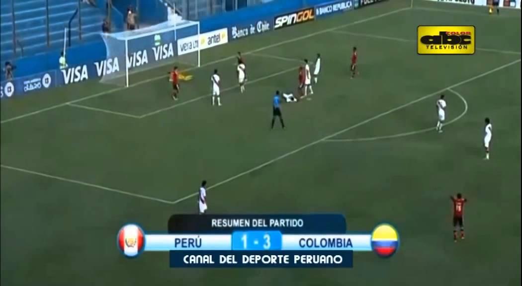 Brasil Vs Argentina Sub 20: Sudamericano Sub 20: Goles De Colombia Vs. Perú Y