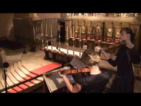 Concierto para dos violines y órgano (Bach) - Música en Torreciudad