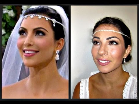 Kim Kardashian Wedding Makeup