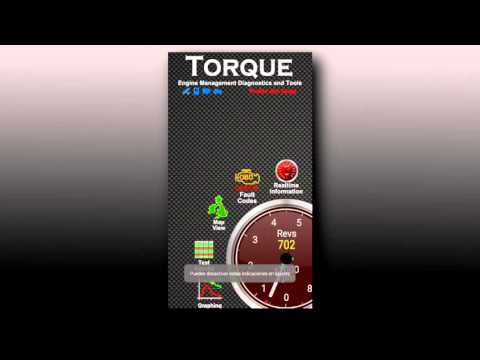 Usando torque con elm327 obd2 bluetooth  + configuración