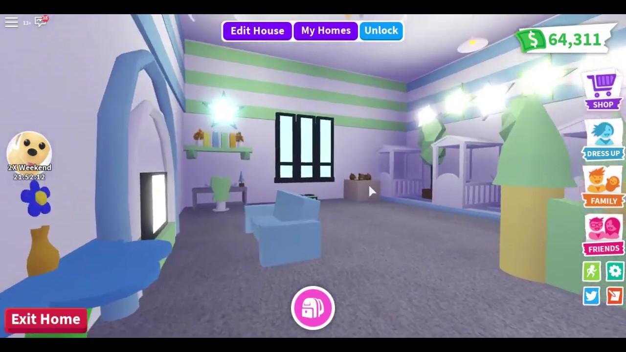 Bubbles Adopt Me Millionaire Mansion Tour Youtube