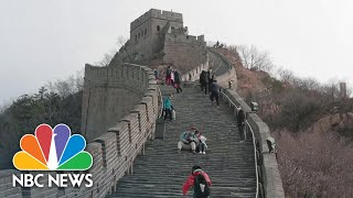 China Begins To Ease Coronavirus Travel Restrictions As Cases Decrease | NBC Nightly News