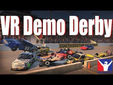 VR Demo Derby Race | Oculus Rift | iRacing