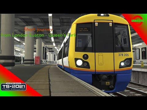 London Overground Euston to Queen's Park (TS 2021) |
