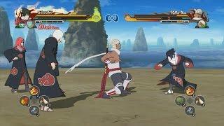 Download Video Naruto Shippuden Ultimate Ninja Storm Revolution - Killer Bee vs Team Taka MP3 3GP MP4