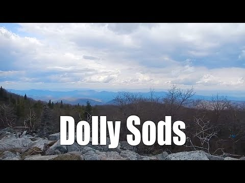Spring backpacking the Dolly Sods - West Virginia