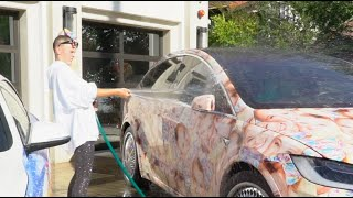 WASHING MY JOJO SIWA CARS... **GONE WRONG!