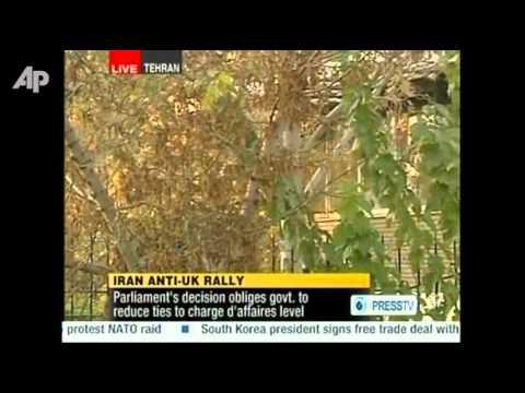 Raw Video: Students Storm British Embassy