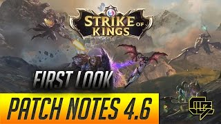 Strike of Kings - Patch notes 4.6 first look review