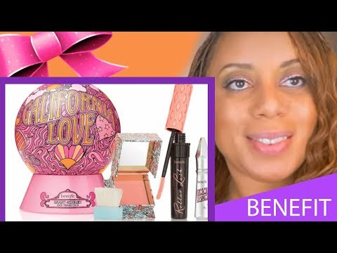 Review on Ulta Beauty Benefit Cosmetics/Unboxing/Gift Idea