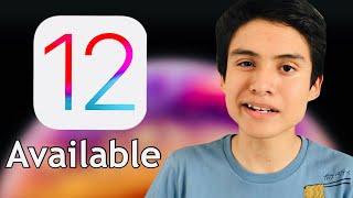 iOS 12 ya está disponible. Libre para todos los iDevices
