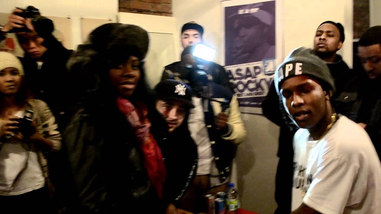 Asap rocky meet and greet in toronto youtube kristyandbryce Images