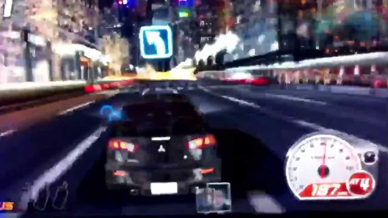 Car Racing Game At Dave And Busters Youtube