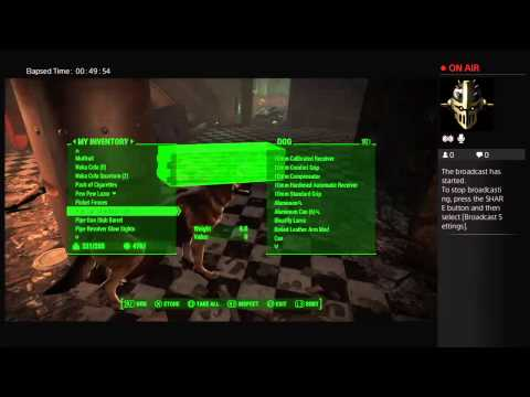 (WARNING:silly language) Back to Fallout 4, Inside Reeve's head.