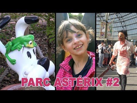 [VLOG] Journée au Parc Astérix #2 - Studio Bubble Tea amusement park