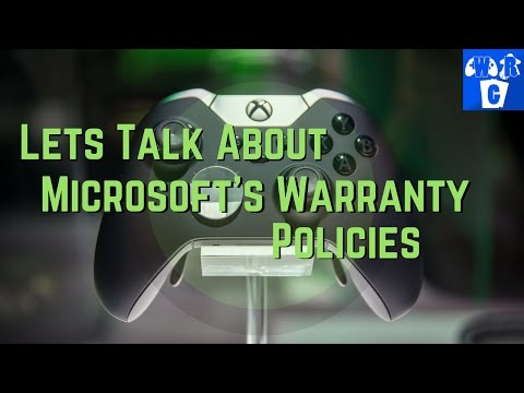 Xbox One Elite Controller Warranty