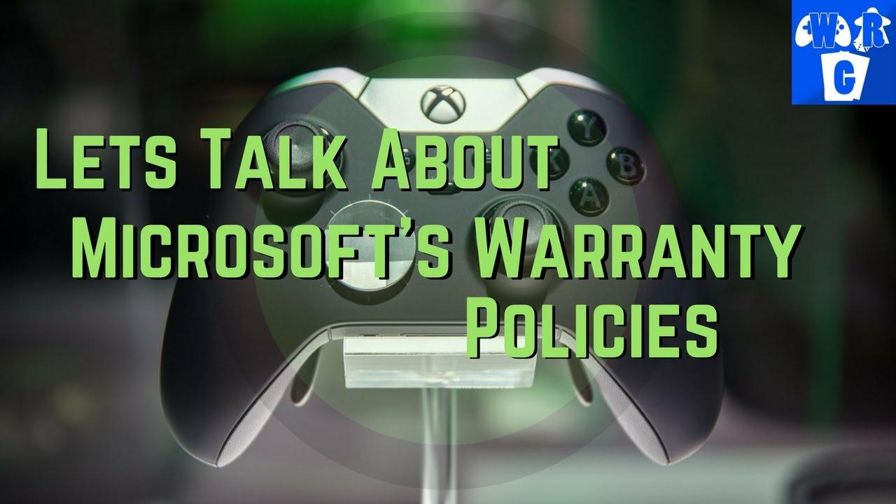 Xbox One Elite Controller Warranty