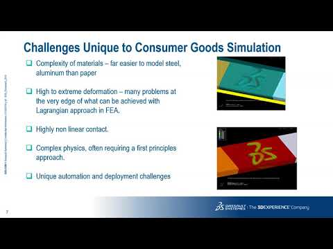 Realistic Simulation in Development of Consumer Packaged Goods - Session 3