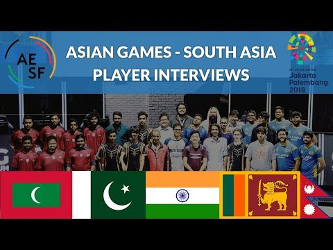 Asian Games Qualifiers - South Asia - Highlights And Interviews