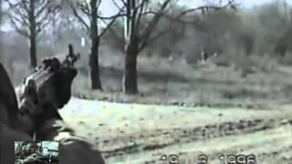 Стрельба по солдатам   нужно почувствовать когда стреляют по Вам  Чечня  19  3