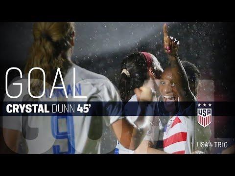 WNT vs. Trinidad & Tobago: Crystal Dunn Goal - Oct. 10, 2018