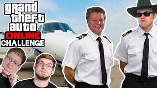 Challenge: Flugzeugrennen auf DEM BODEN! 🎮 Grand Theft Auto Online #197