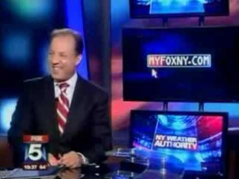 Keep Fucking That Chicken by Ernie Anastos on Fox 5 WNYW