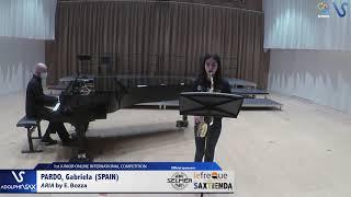 Gabriela Pardo – Aria by Eugene Bozza