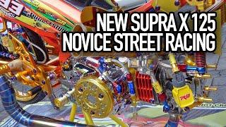 supra 125 modifikasi novice street racing ototrend by koplok custom purworejo