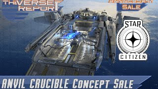 Star Citizen Crucible Concept Sale | Verse Report [Deutsch/German]