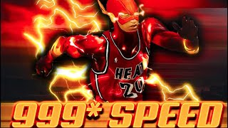 "999 OVERALL SPEED ""THE FLASH"" FASTEST RUNNING GLITCH IN NBA 2K21 HISTORY..."