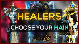 Shadowlands: Choose Your Main - Healers (PvE)