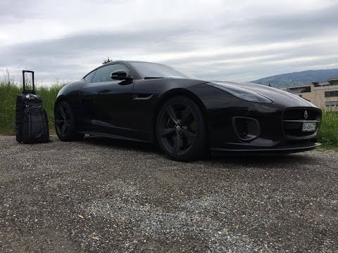 Zurich to Monaco - Driving the brand new Jaguar F-Type Sport 400