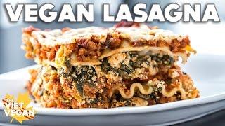 Vegan Lasagna with Tofu Ricotta [Gluten-Free!] (◠‿◠✿)