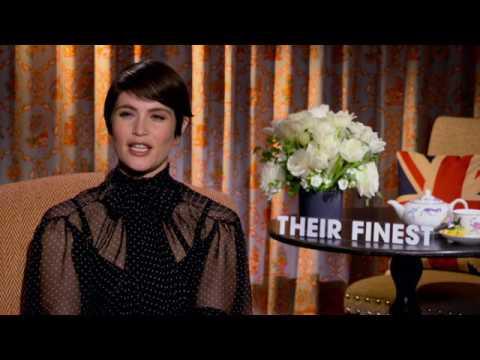 Their Finest Interview Gemma Arterton