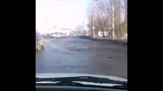 Убитые дороги г.Балашов 2017