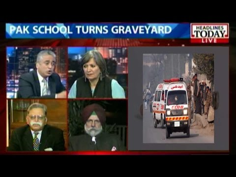 News Today At Nine: Taliban attack on army school in Peshawar (Part 1)