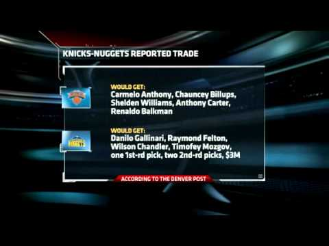 Carmelo Anthony traded to the New York Knicks [February 22, 2011 ...