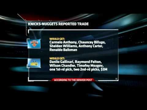 Carmelo Anthony traded to the New York Knicks [February 22, 2011 ...